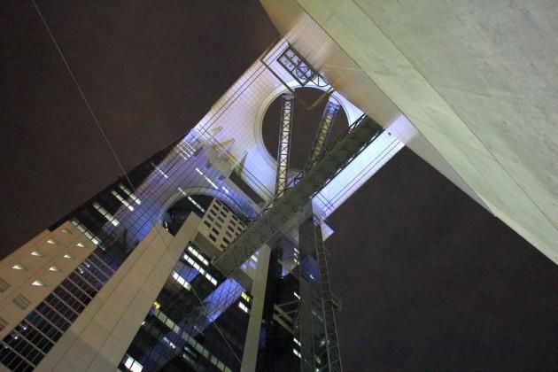 梅田スカイビル 空中庭園展望台からの夜景